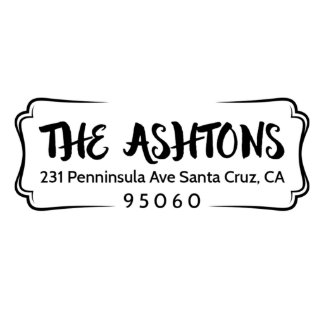 Ashton Self Inking Return Address Stamp