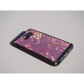 samsung Galaxy Note 5 Bl. Rubber Pink Crystals