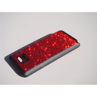 samsung Galaxy Note 5 Bl. Rubber Red Siam Crystals