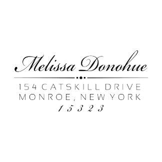Donohue Custom Return Address Stamp