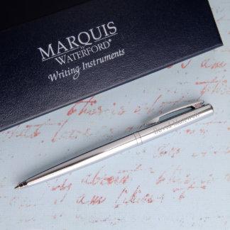 Personalized Waterford Arcadia Metal Ballpoint Pen