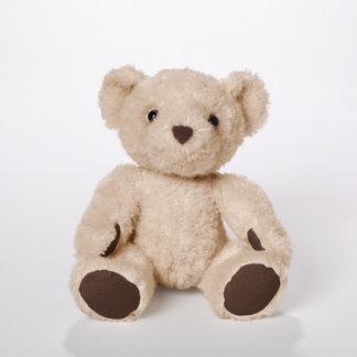 Oso marrón claro del bebé