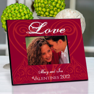 Personalized Roses are Red 4X6 Picture Frame
