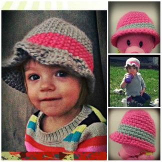 Handmade Cloche Baby Hat