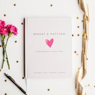 Modern Chic Wedding Guest Book  - Small