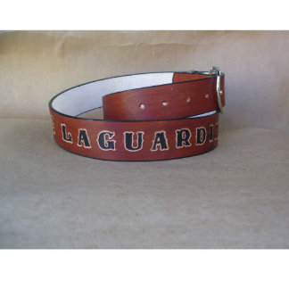 One of a kind Gift – Personalize Lather belt
