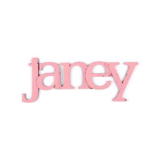 Pink Custom Wall Letter Name Decor