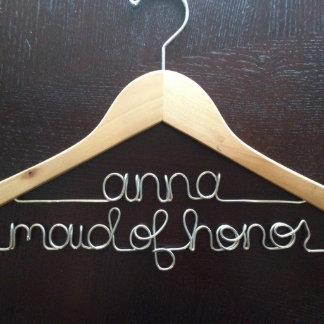 Personalized Bridal Hanger