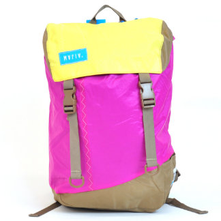 Pink & Yellow Discover Pack Backpack