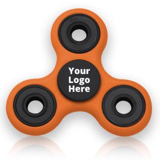Black & Orange EDC Fingertip Fidget Spinner