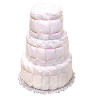 Baby Shower Three Layer Diaper Cake