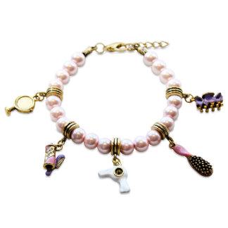 Beautician Charm Bracelet