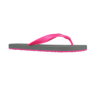 Pink Personalized Women's Flip Flops