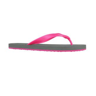 Pink Personalized Women's Flip Flops