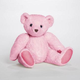 Oso de peluche personalizado rosa