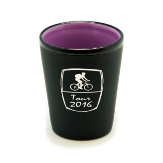 Custom Matte Black/Color Shot Glass #5
