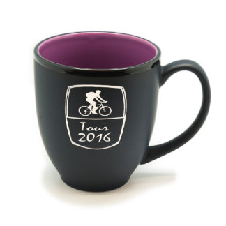 Personalized Matte Black/Color Hilo Mug #5