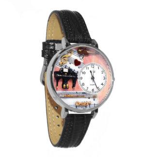 Music Teacher Hand-Crafted Charm Watch