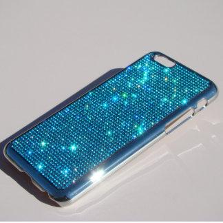 iPhone 6 Silver Chrome Case w/Rhinestones