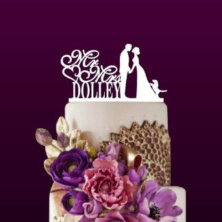 Custom Wedding Couple Cake Topper