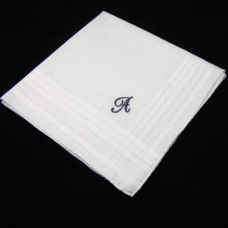 Father of the Bride Monogram Handkerchief