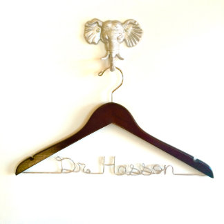 Personalized Doctor Hanger