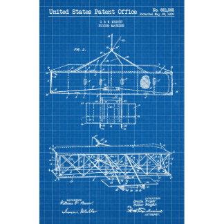 Wright Bros. Vintage Flying Machine 11x17 Print