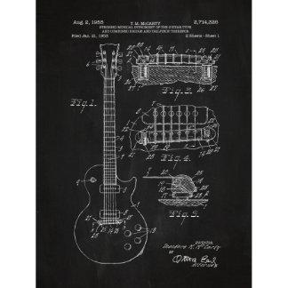Gibson Les Paul Guitar 1953 Screen Print