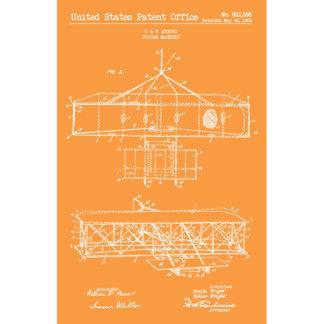 US Patent Office Vintage Flying Machine Print