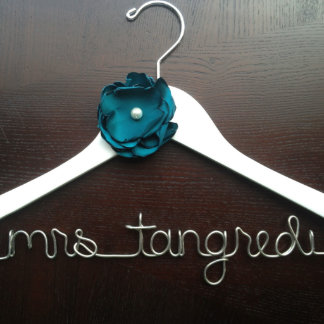 Personalized Bridal Name Hanger