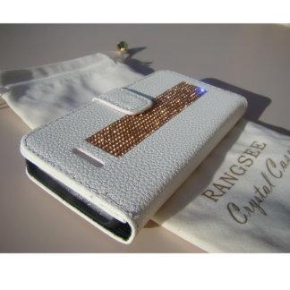 iPhone SE/5/5s Wallet Case w/Rhinestones
