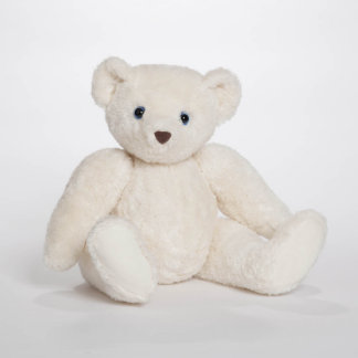 White Personalized Teddy Bear