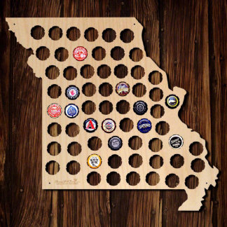 Missouri Beer Cap Map