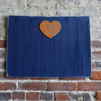 Custom Colorado Wooden Wedding Guestbook