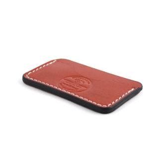 Saddle Tan Leather Chapman Slim Wallet