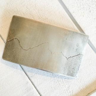 Tetons Mountain Scape Nickel Silver Belt Buckle