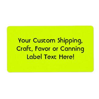 Fluorescent Shipping Address & Return Address Labels #1: view pid= &max dim=324