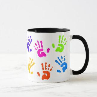 Coffee Maker Handprint : Handprint Coffee & Travel Mugs Zazzle