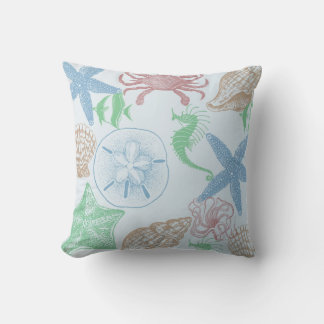 Marine Blue Throw Pillows : Marine Blue Pillows - Decorative & Throw Pillows Zazzle