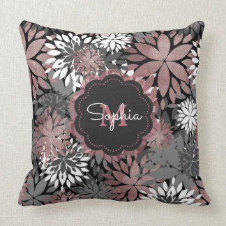 Rose Gold Pillows - Decorative & Throw Pillows Zazzle
