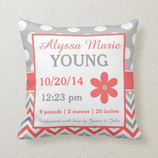 Birth Announcement Pillows Decorative Amp Throw Pillows