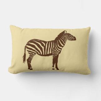 Brown Zebra Pillows - Decorative & Throw Pillows Zazzle