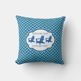 Beach Chairs Pillows - Decorative & Throw Pillows Zazzle