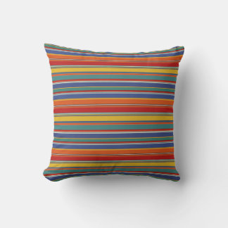 Yellow Striped Throw Pillows : Red And Yellow Striped Pillows - Decorative & Throw Pillows Zazzle