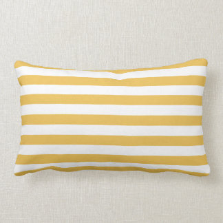 Yellow Striped Pillows - Decorative & Throw Pillows Zazzle