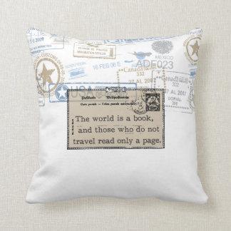 Vintage Travel Pillows - Decorative & Throw Pillows Zazzle