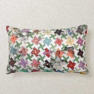 Throw Pillow Quilt Pattern : Quilt Pattern Pillows - Decorative & Throw Pillows Zazzle
