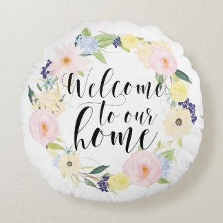 Welcome Home Throw Pillow : Welcome Home Pillows - Decorative & Throw Pillows Zazzle