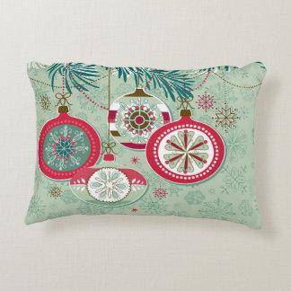 Blue Christmas Pillows - Decorative & Throw Pillows Zazzle