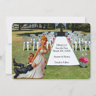 Funny Save The Date Cards | Zazzle